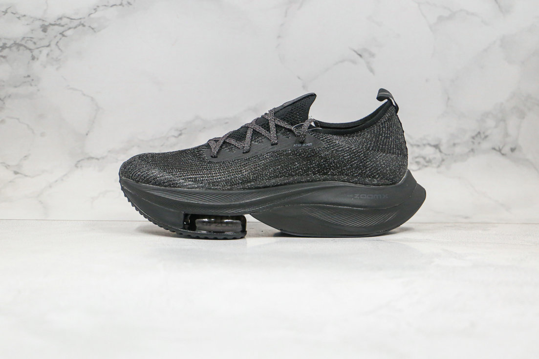 2020 Womens Cheapest Nike Air Zoom Alphafly NEXT Triple Black CI9925-001