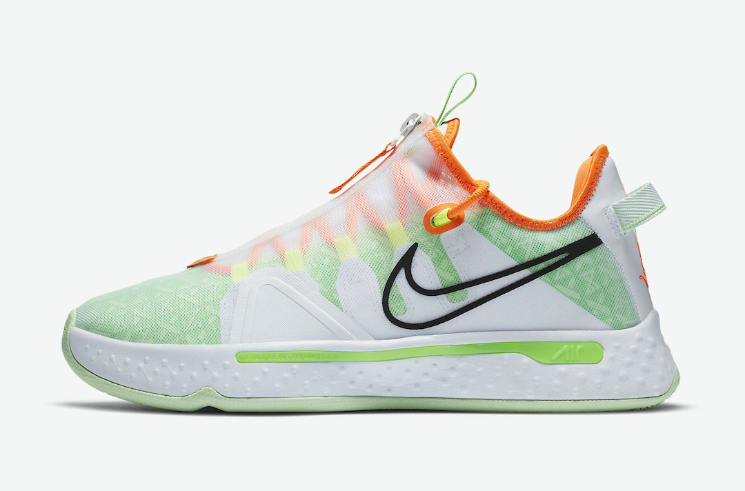 2021 Cheap Wholesale Gatorade x Nike PG 4 White GX