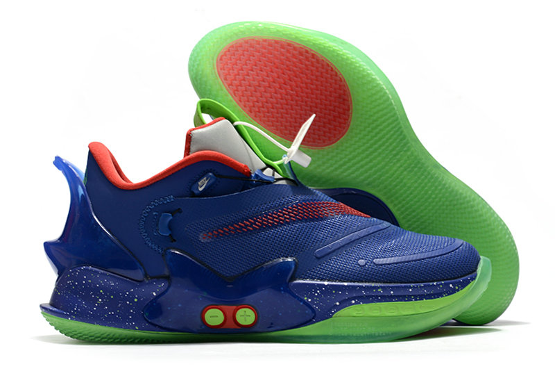 2021 Cheap Wholesale Nike Adapt BB 2.0 Blue Red Green