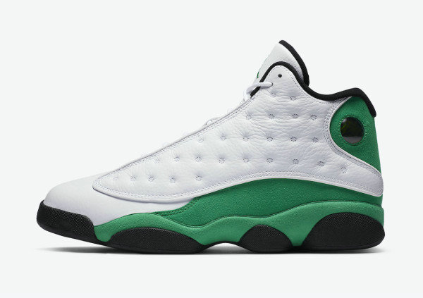 2021 Cheap Wholesale Nike Air Jordan 13 Lucky Green DB6537-113