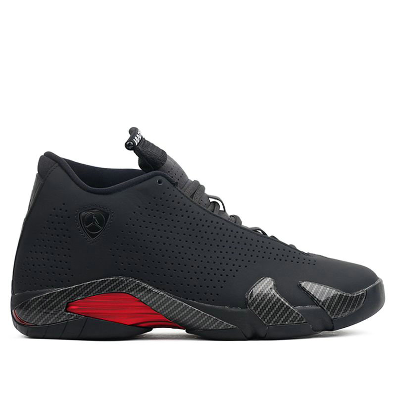 2021 Cheap Wholesale Nike Air Jordan 14 Retro SE Black Ferrari BQ3685-001