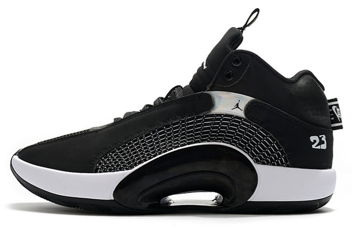 2021 Cheap Wholesale Nike Air Jordan 35 Black White