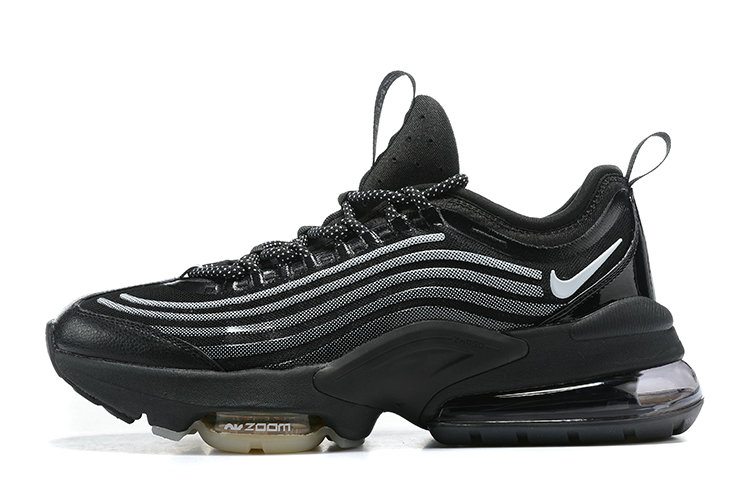 2021 Cheap Wholesale Nike Air Max ZOOM 950 Black-Black Metallic Silver CJ6700-001