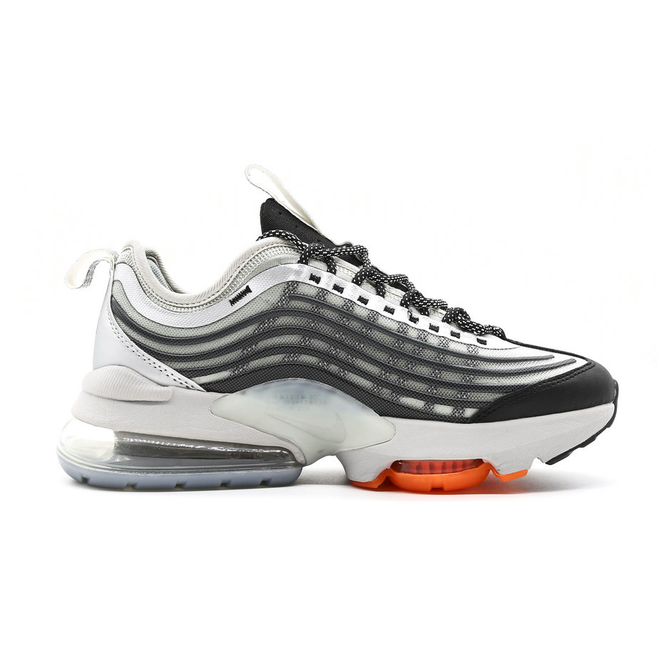 2021 Cheap Wholesale Nike Air Max ZOOM 950 Black Grey Orange