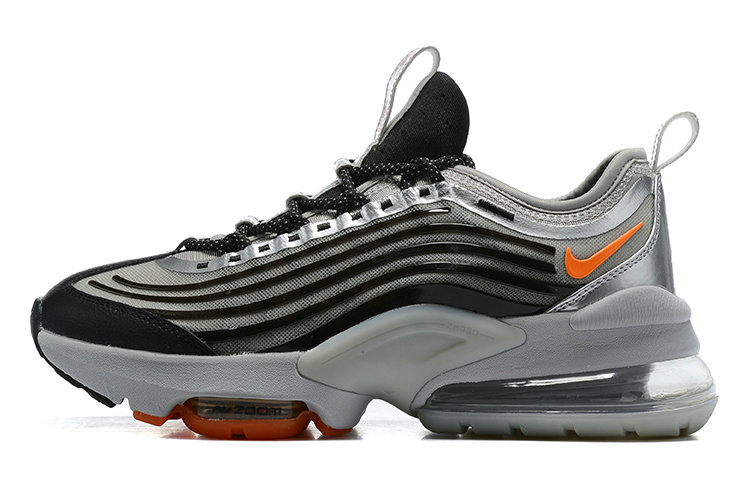 2021 Cheap Wholesale Nike Air Max ZOOM 950 Black Silver Grey Orange