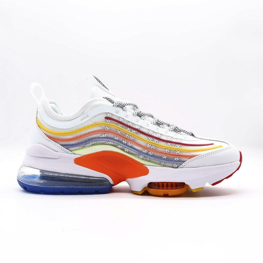 2021 Cheap Wholesale Nike Air Max ZOOM 950 Orange Blue White