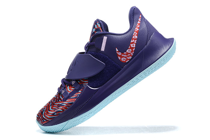 2021 Cheap Wholesale Nike Kyrie Low 3 Purple Red-Blue