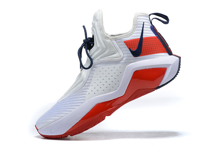 2021 Cheap Wholesale Nike Lebron Soldier 14 White Red CK6024-100