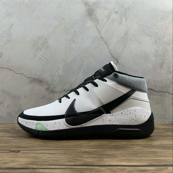 2021 Cheap Wholesale Nike Zoom KD13 EP Black White Noir Blanc CI9948-100
