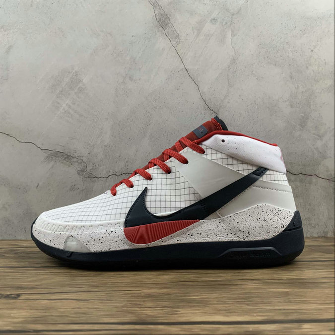 2021 Cheap Wholesale Nike Zoom KD13 EP Red White Blue Rouge Bleu Blanc CI9948-101