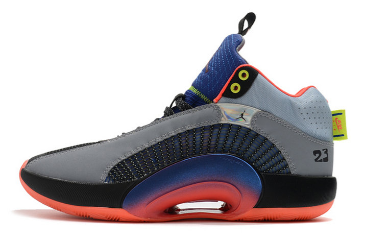 2021 Kids Cheap Wholesale Nike Air Jordan 35 XXXV Center Of Gravity Multi-Color DC1492-001