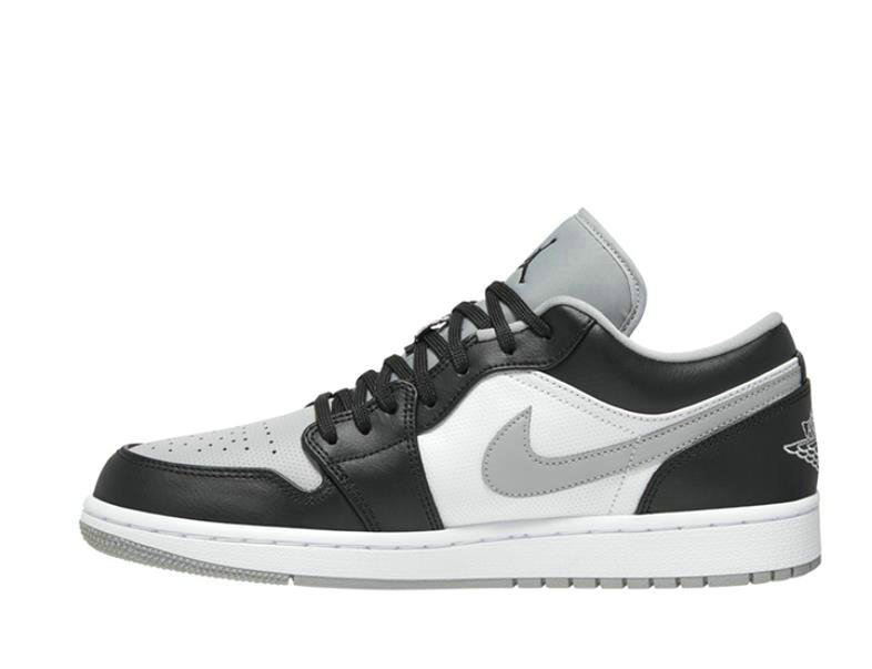 2021 Where To Buy Cheap Wholesale Nike Air Jordan 1 Low Black Light Smoke Grey 553558-039