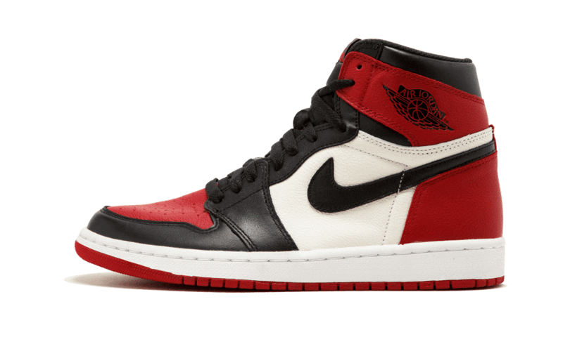 2021 Where To Buy Cheap Wholesale Nike Air Jordan 1 Retro High OG Chicago Bred Toe 555088-610