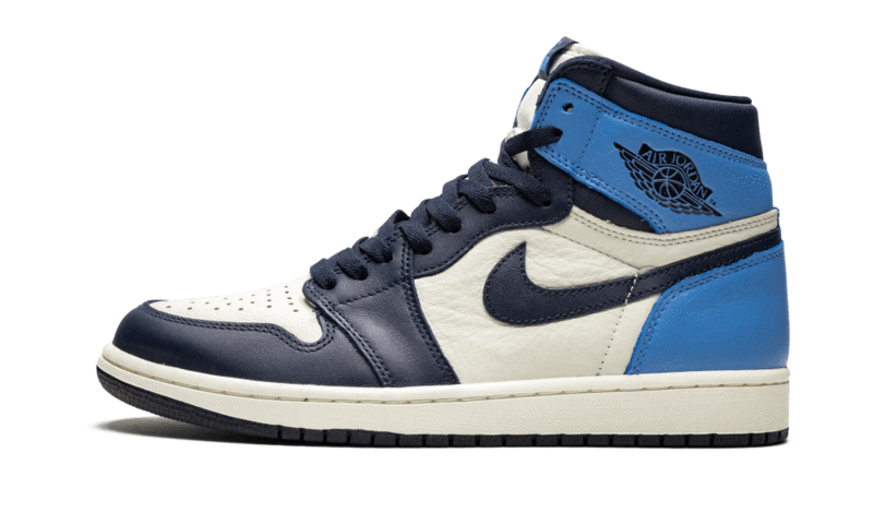 2021 Where To Buy Cheap Wholesale Nike Air Jordan 1 Retro High OG Obsidian UNC 555088-140