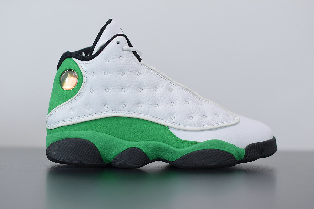 2021 Where To Buy Cheap Wholesale Nike Air Jordan 13 Retro Ray Allen PE White Clover 414571-125