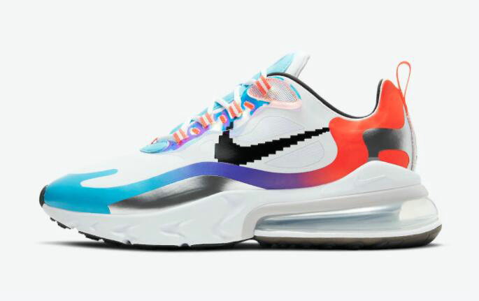 2021 Where To Buy Cheap Wholesale Nike Air Max 270 React Have A Good Game DC0833-101