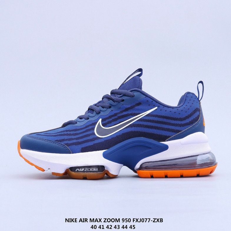 2021 Where To Buy Cheap Wholesale Nike Air Max 950 Blue Orange White