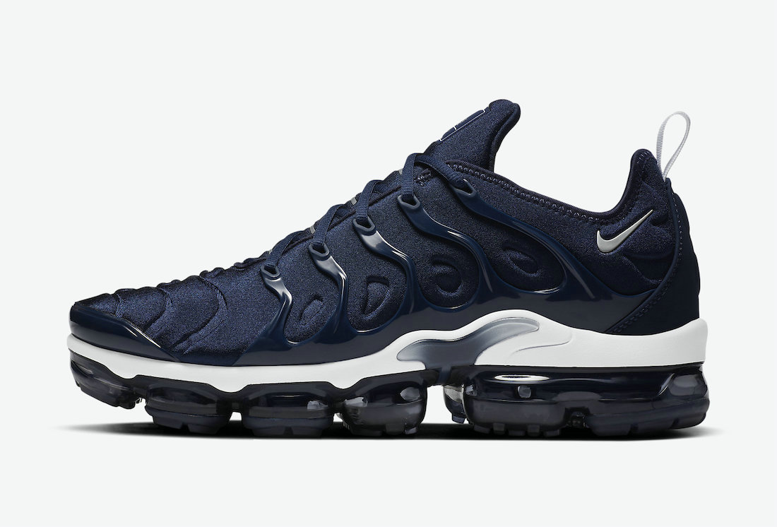 2021 Where To Buy Cheap Wholesale Nike Air VaporMax Plus Surfaces in Midnight Navy DH0611-400