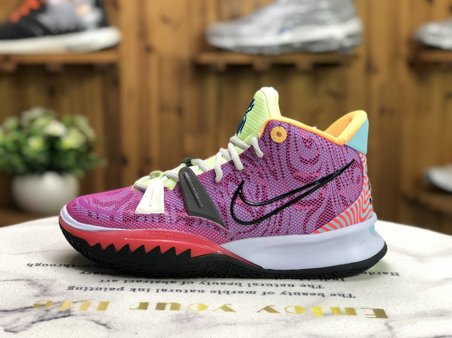 2021 Where To Buy Cheap Nike Kyrie S2 Hybrid Purple Green Red Black CT1971-900