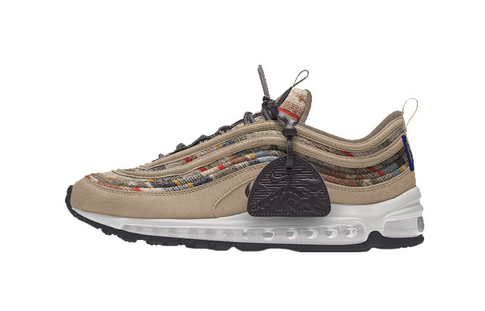 2021 Where To Buy Cheap Pendleton Nike Air Max 97 By You Multi DC3494-991