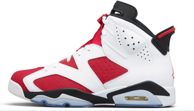 2021 Where To Buy Cheap Wholesale Womens Nike Air Jordan 6 Retro Carmine White Black Carmine CT8529-106