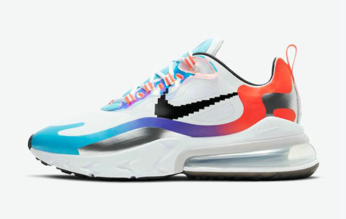 2021 Where To Buy Cheap Wholesale Womens Nike Air Max 270 React Have A Good Game DC0833-101