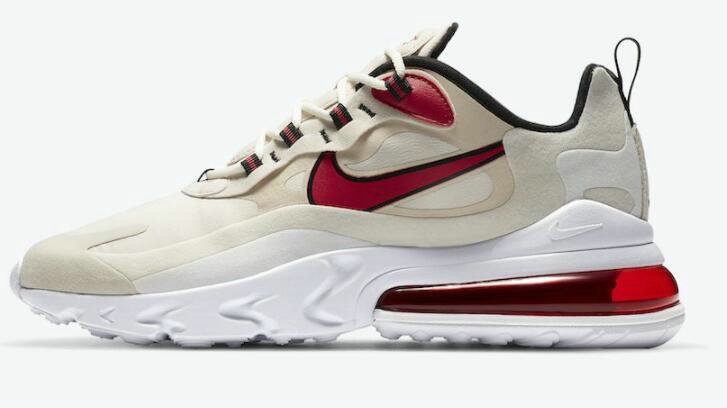 2021 Where To Buy Cheap Wholesale Womens Nike Air Max 270 React Orewood Brown CT1280-102