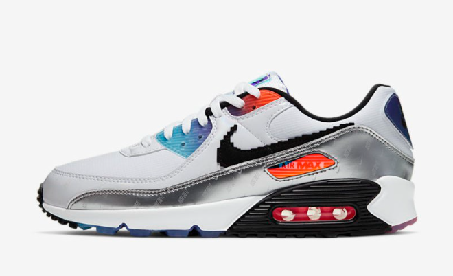 2021 Where To Buy Cheap Wholesale Womens Nike Air Max 90 have A Good Game DC0835-101