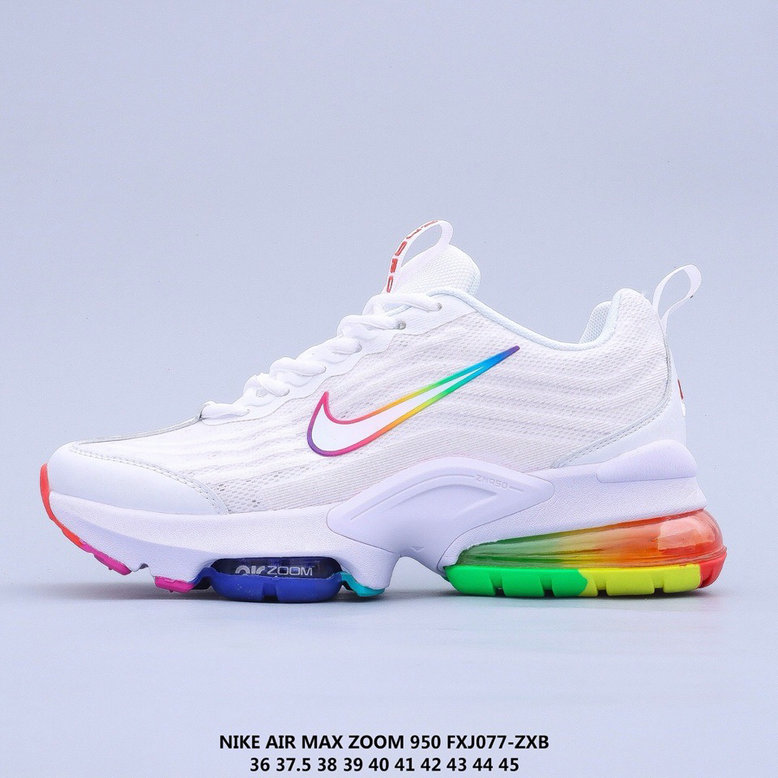 2021 Where To Buy Cheap Wholesale Womens Nike Air Max 950 White Colorful