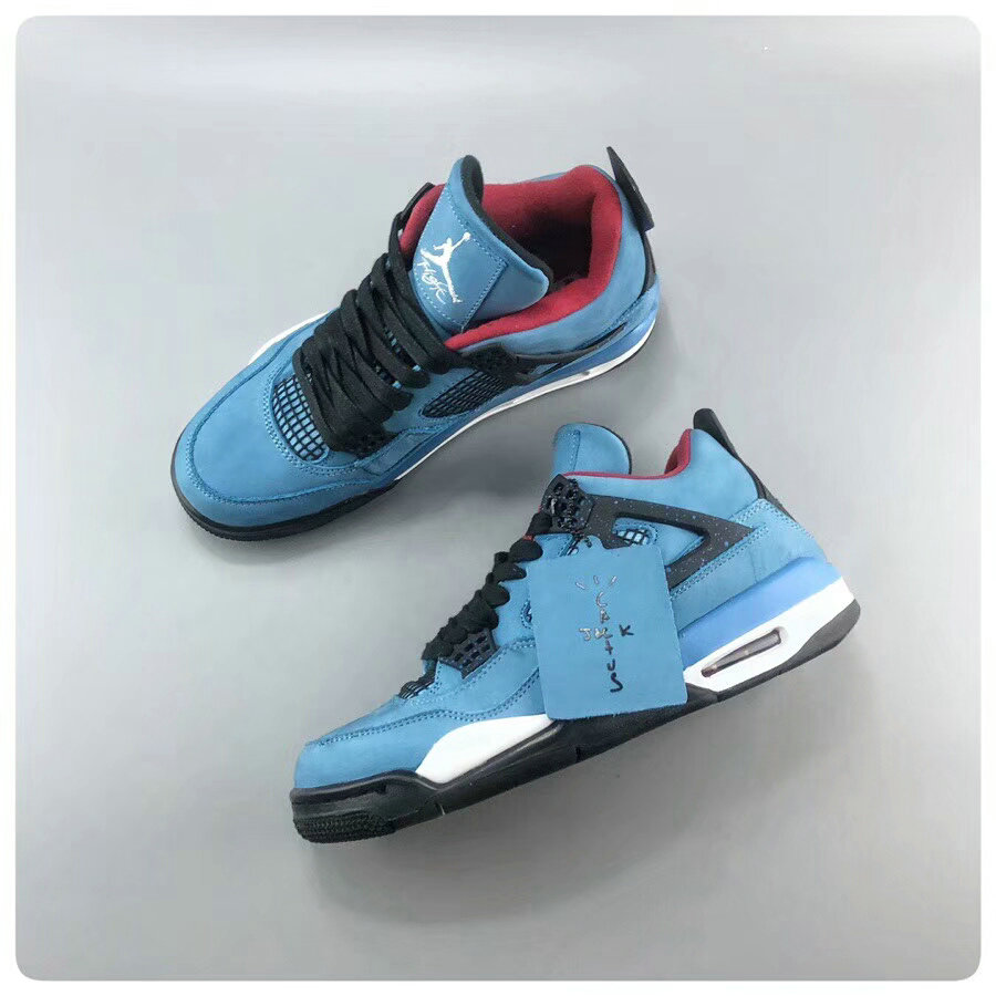 Wholesale AJ4 Travis Scott x Air Jordan 4 Houston Oilers 308497-406