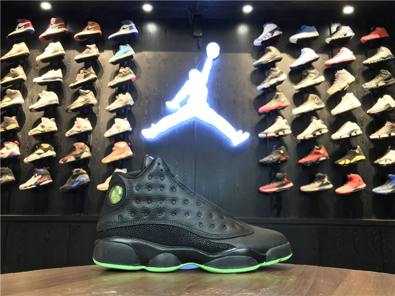 2018 Cheap Wholesale Air Jordan 13 Altitude Green 414571-030