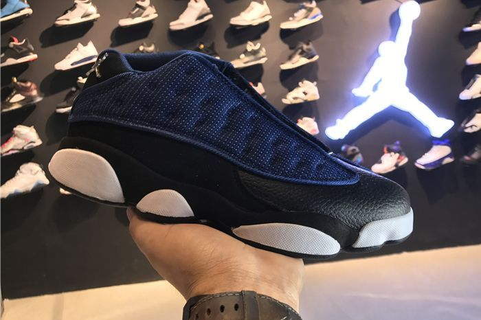 Air Jordan 13 Low Brave Blue Black-University Blue-Metallic Silver 2017