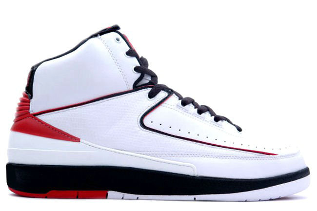 Air Jordan 2 Retro White Red Black