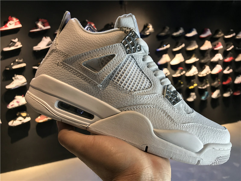 2018 Cheap Wholesale Air Jordan 4 Pure Money 308497-100