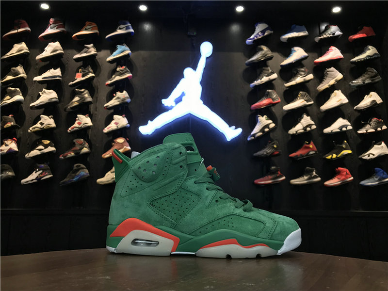 2018 Cheap Wholesale Air Jordan 6 GS Gatorade 384664-145