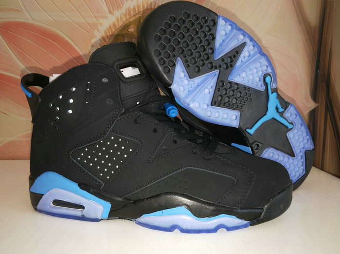 Air Jordans Cheap Wholesale Nike Air Jordan 6 Womens Blue White