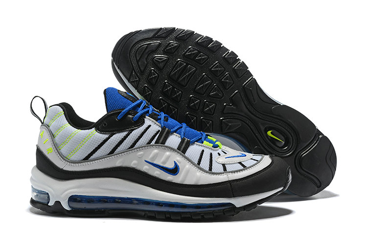 Wholesale Air Max 98 2018 New Arrival White Black Green Blue