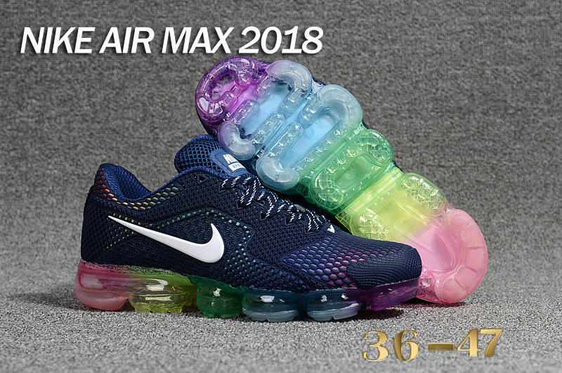 Air Maxs Cheap Wholesale WMNS Nike Air Max Day 2018 Be True Deep Blue