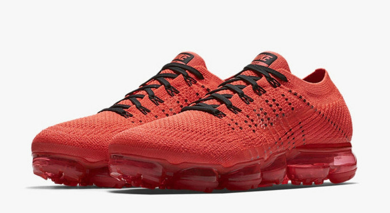 8f8df84f2b9 Cheap Wholesale NIKE AIR VAPOR MAX WOMENS RED BLACK RUNNING SHOES ...