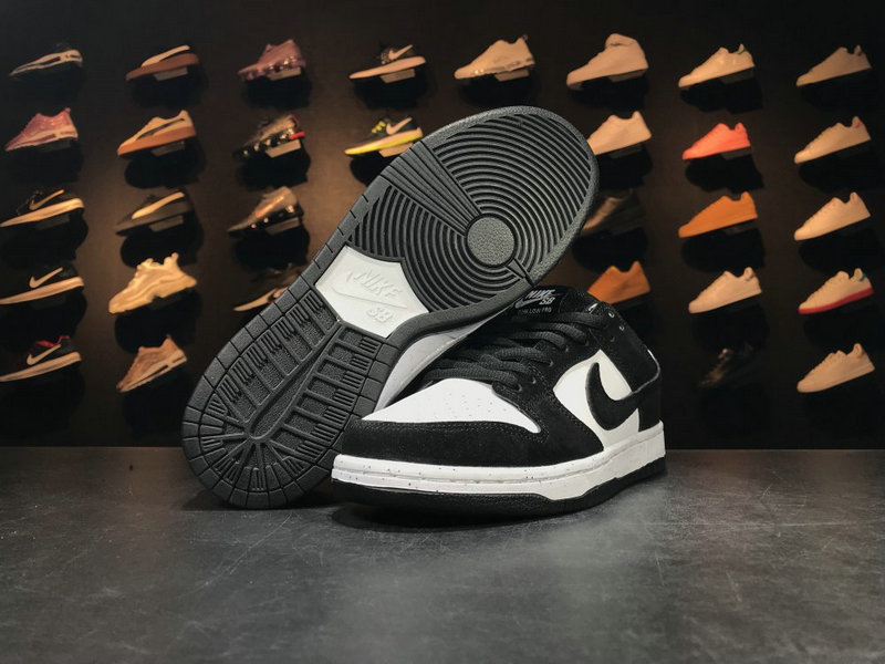 Cheap Wholesale 854866 003 White Black NIKE SB DUNK