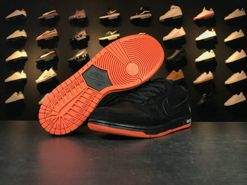 Cheap Wholesale 883232 008 Black Orange Nike SB Blazer Low GT