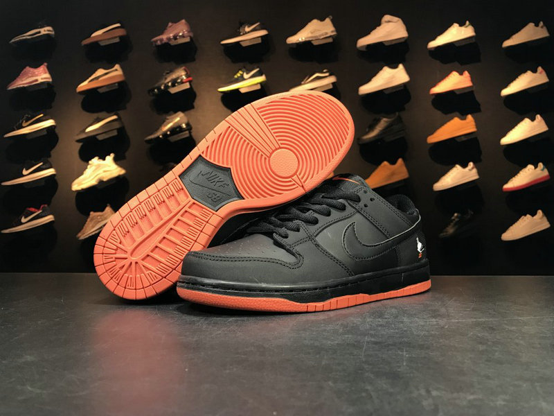 Cheap Wholesale 883232 008 Orange Black NIKE SB DUNK