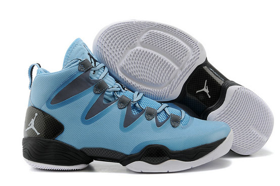 Cheap Wholesale Air Jordan 28 Retro Blue Black White