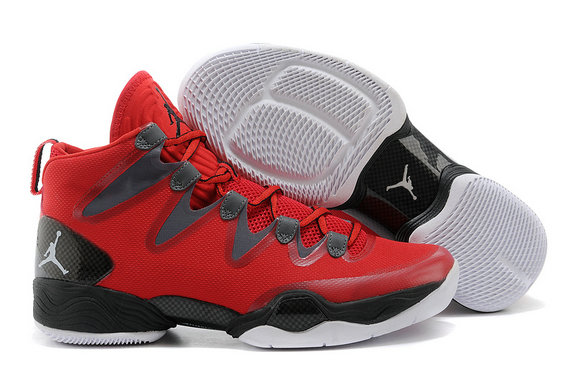 Cheap Wholesale Air Jordan 28 Retro Red Black Grey White
