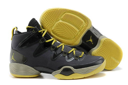 Cheap Wholesale Air Jordan 28 Retro Red Yellow Grey