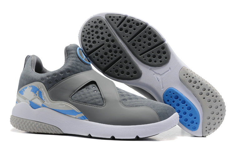 Cheap Wholesale Air Jordan 8 Trainer Essential Grey White Blue