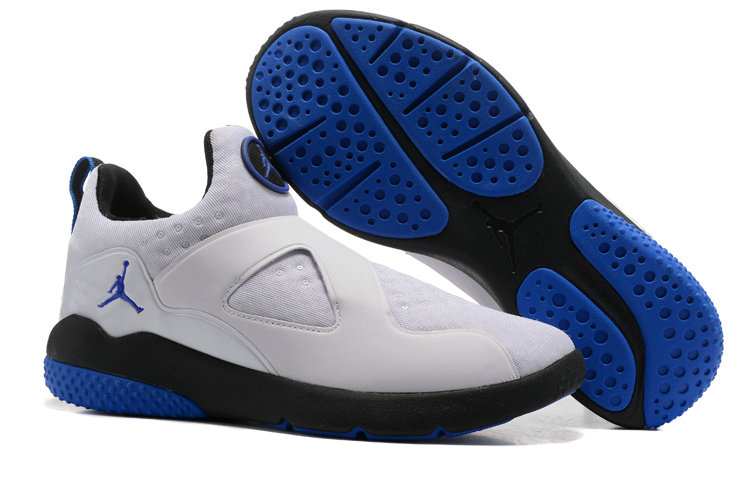 Cheap Wholesale Air Jordan 8 Trainer Essential White Blue Black