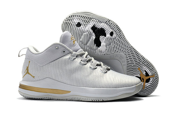Cheap Wholesale Air Jordan CP3 X Gold White
