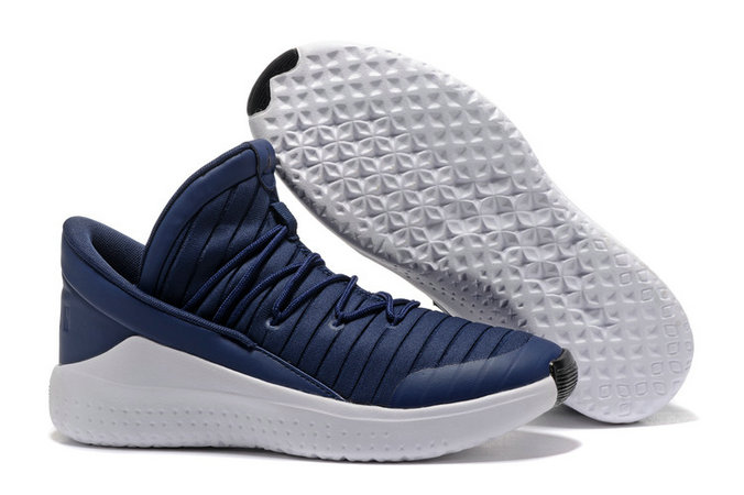 Cheap Wholesale Air Jordan Flight Luxe Navy Blue White