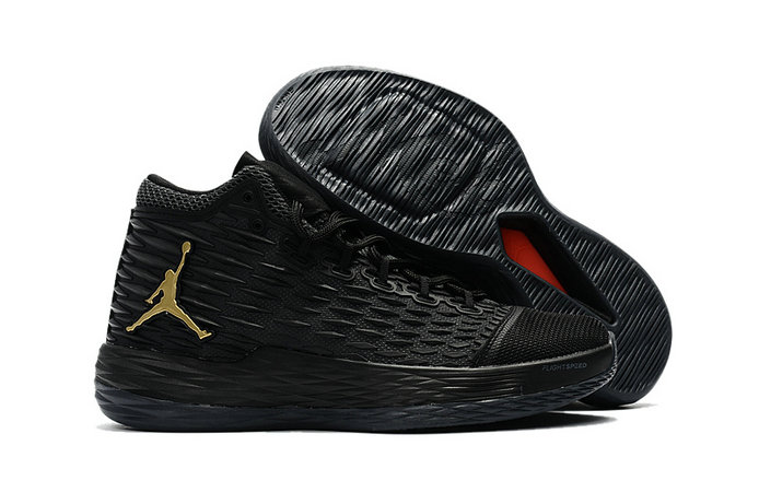Cheap Wholesale Air Jordan Melo M13 Gold Black